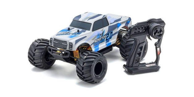 Kyosho: 1/10 EP RS 2WD Monster Tracker 2.0 (Blue) (with Battery & Charger)