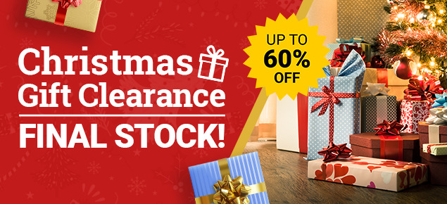 Christmas Home & Gift Clearance!