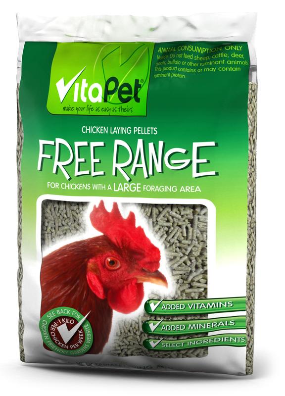 Vitapet: Free Range Chicken Food 5kg
