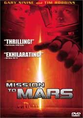 Mission To Mars on DVD