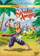 Saludos Amigos on DVD