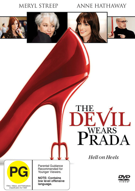 The Devil Wears Prada on DVD