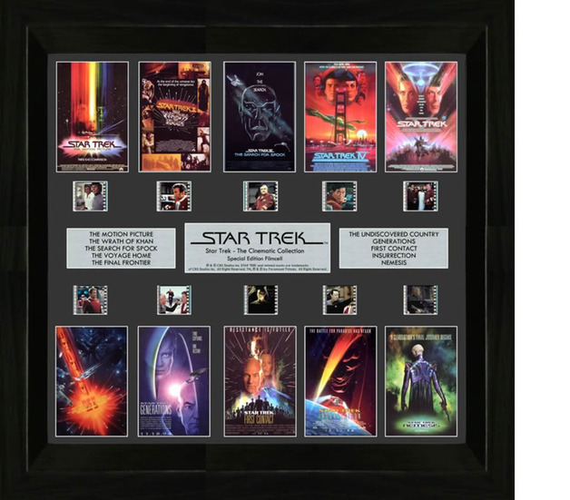 FilmCells: Montage Frame - Star Trek (Cinematic Collection)