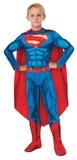DC Comics: Superman Deluxe Muscle Suit - (Size 3-5)