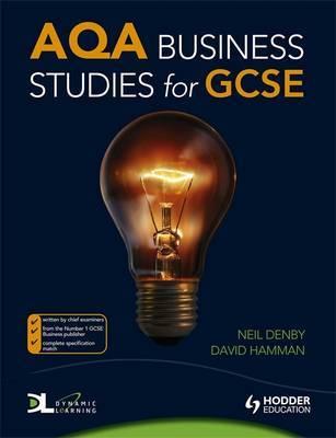 AQA Business Studies for GCSE by Neil Denby image