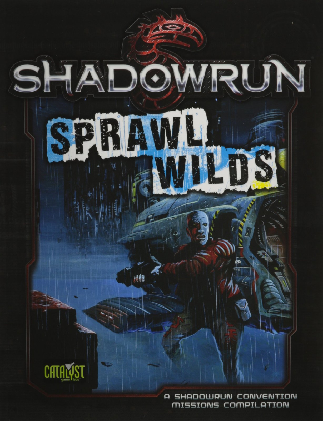 Shadowrun RPG: Sprawl Wilds - Missions Compilation image