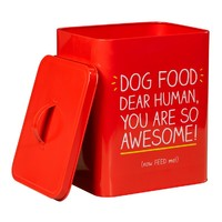 Happy Jackson Awesome Large Dog Food Tin