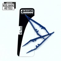 4Ground: Plastic Tweezers - 2-Pack