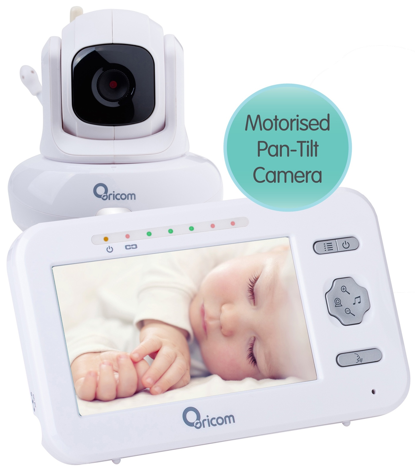 Oricom: Secure850 Digital Video Baby Monitor with Pan-Tilt Camera image