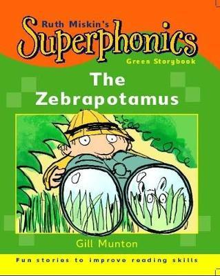 Superphonics: Green Storybook: The Zebrapotamus by Gill Munton image