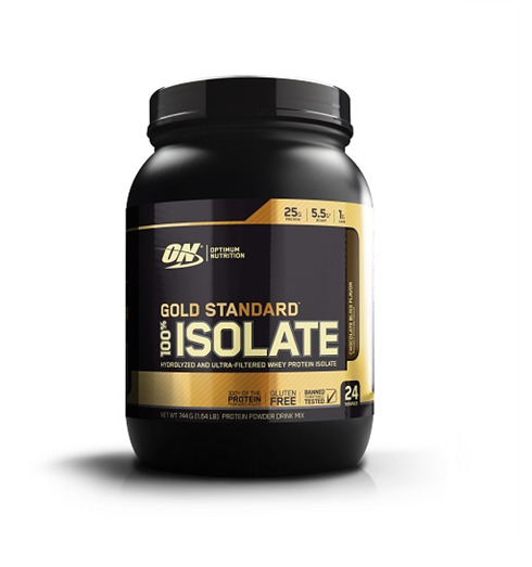 Optimum Nutrition: Gold Standard 100% Isolate - Chocolate Bliss (720g)