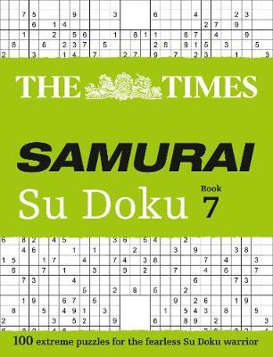 The Times Samurai Su Doku 7 | The Times Mind Games Book | In