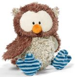 Nici - Oscar Owl 35 cm (Joint Turnable Head)