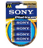 Sony AM4PTB4 Alkaline Battery AAA 4Pk Platinum