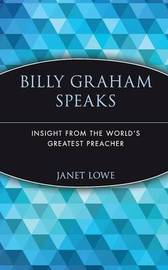 Billy Graham Speaks by Billy Graham image
