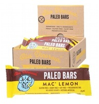 Blue Dinosaur Paleo Bars - Mac' Lemon (12 Bars)