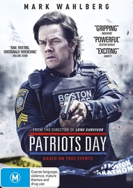 Patriots Day on DVD image
