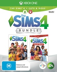 The Sims 4 plus Cats & Dogs Bundle for Xbox One