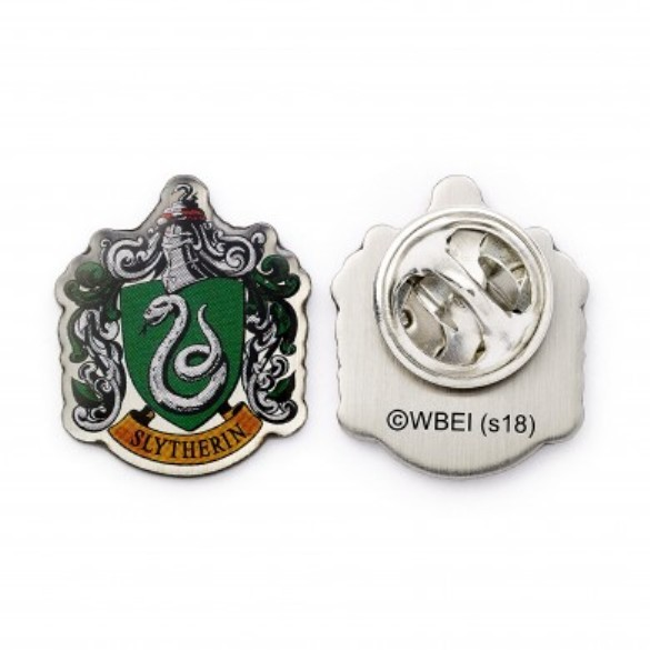 Harry Potter: Slytherin House Crest Pin Badge