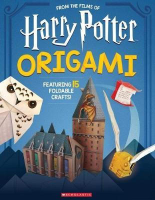 Origami: 15 Paper-Folding Projects Straight from the Wizarding World! (Harry Potter) by Scholastic image