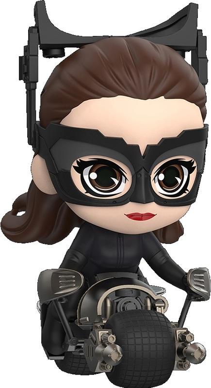 Batman: Dark Knight Rises - Catwoman (with Batpod) - Cosbaby Figure