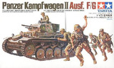 Tamiya Panzer Mk.II Ausf.F/G 1:35 Model Kit