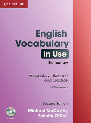 English Vocabulary in Use: Elementary with Answers and CD-ROM by Felicity O'Dell