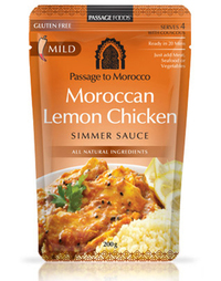 Passage to Morocco - Moroccan Lemon Chicken Simmer Sauce 200g