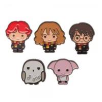 Harry Potter - Lapel Pin Set (5-Pack)