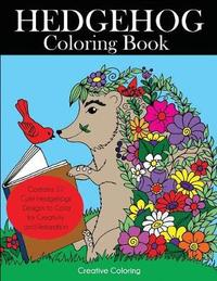 Hedgehog Coloring Book by Creative Coloring