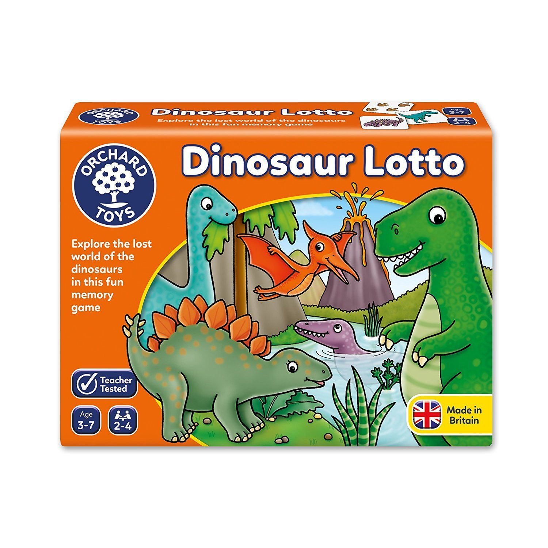 Orchard Toys : Dinosaur Lotto image