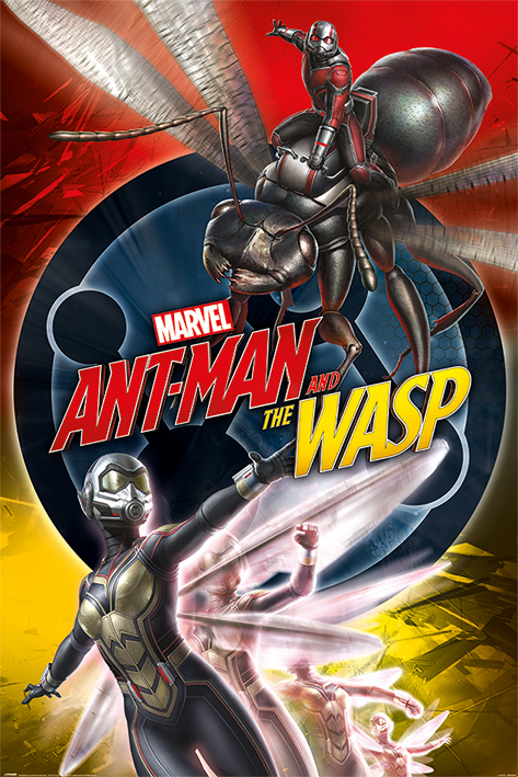 Antman And The Wasp Maxi Poster - Dnamic (830)