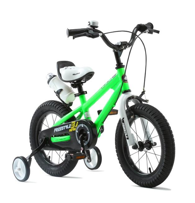 "RoyalBaby: BMX Freestyle - 16"" Bike (Green)"