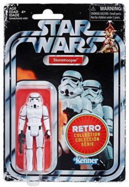 "Star Wars: Stormtrooper - 3.75"" Retro Action Figure"