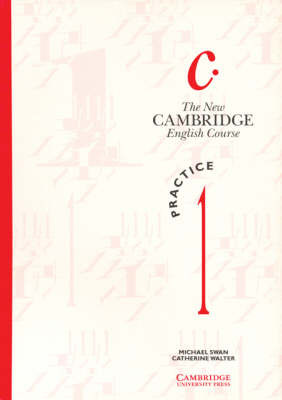 The New Cambridge English Course 1 Practice Book: Level 1: Practice Bk by Michael Swan image