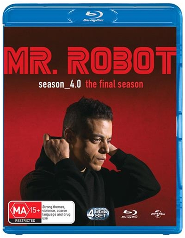 Mr Robot - Season 4.0 (The Final Season) on Blu-ray