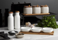 Ladelle: Essentials Canister & Spoon Counter Set - White