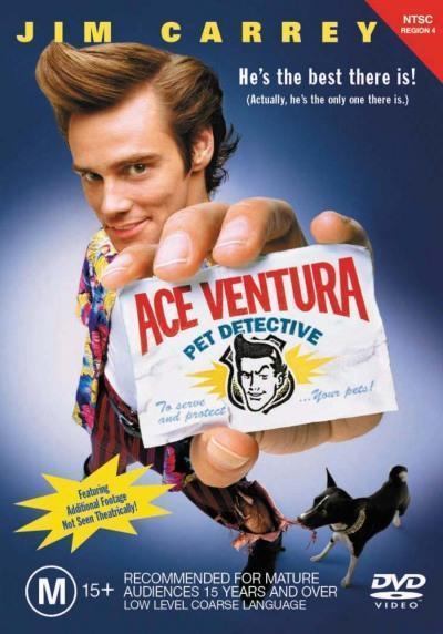 Ace Ventura Pet Detective on DVD