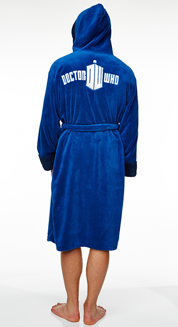 Doctor Who TARDIS Deluxe Dressing Gown | Men\'s | at Mighty Ape Australia