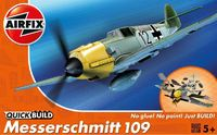 Airfix - Quickbuild Messerschmitt ME109E Model Kit
