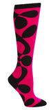 Women's Mondo Guerra Abstract Knee High Socks