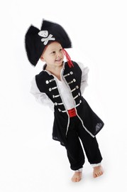 Little Heroes Ahoy There Pirate Costume (Medium)