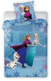 Disney: Frozen Duvet Set (Anna, Elsa & Olaf on Ice) - Single