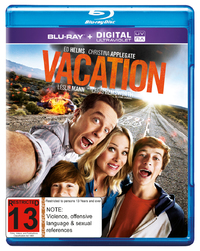 Vacation on Blu-ray, UV