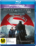Batman v Superman: Dawn of Justice 3D DVD