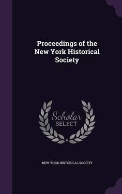 Proceedings of the New York Historical Society image