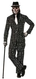 Skeleton Bone Pin Stripe Suit - (Medium)