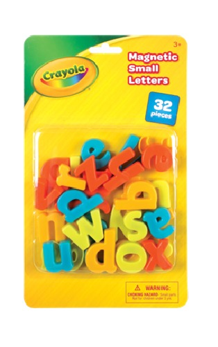 Crayola: Magnetic Letters - (Lower Case) image