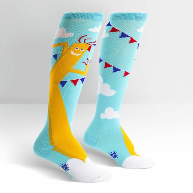 Women's - The Ecstacy Of Mr. Wavy Arms Knee High Socks