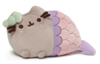 Pusheen the Cat: Mermaid - Spiral Shell Plush (18cm)